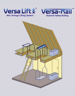 Versa Lift Is The Answer To All Your Home Storage Problems! Now You Can  Keep Your Garage Space Neat By Sending All Those Boxes Up To The Attic And  Out Of ...